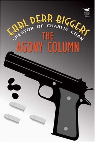 Large book cover: The Agony Column