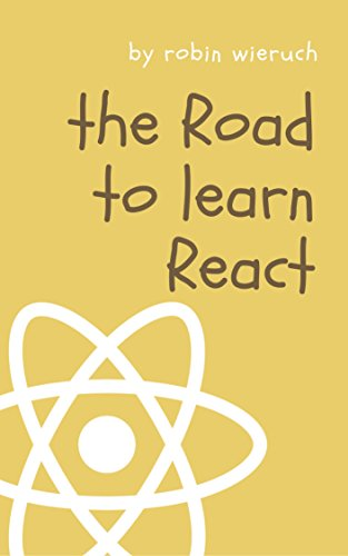 Large book cover: The Road to learn React