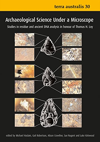 Large book cover: Archaeological Science Under a Microscope