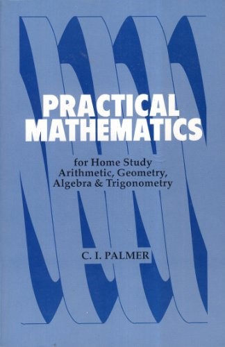Large book cover: Practical Mathematics for Home Study