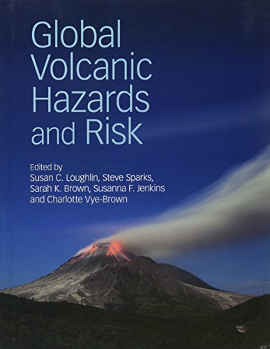 Large book cover: Global Volcanic Hazards and Risk