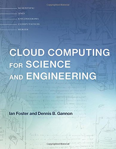 Large book cover: Cloud Computing for Science and Engineering
