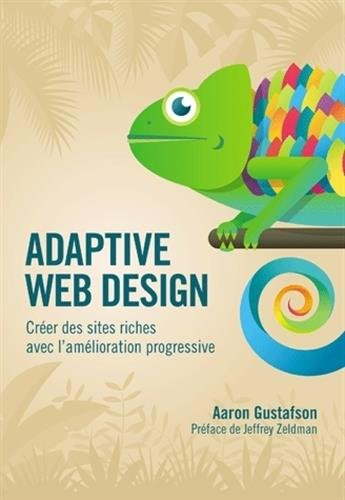 Large book cover: Adaptive Web Design