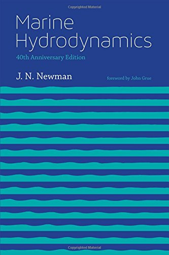 Large book cover: Marine Hydrodynamics