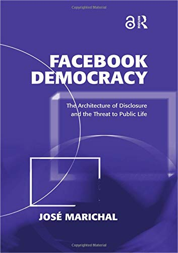 Large book cover: Facebook Democracy