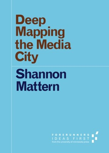 Large book cover: Deep Mapping the Media City