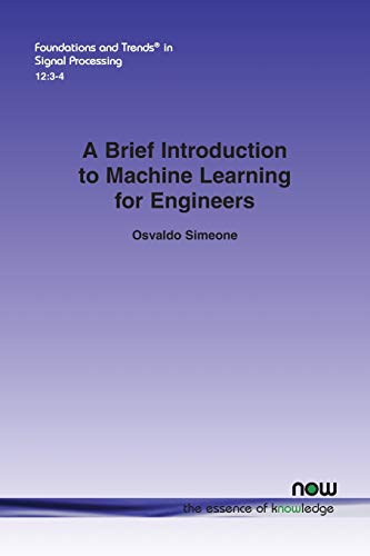 Large book cover: A Brief Introduction to Machine Learning for Engineers
