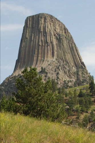 Large book cover: Devils Tower National Monument, Wyoming