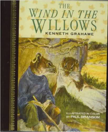 Large book cover: The Wind in the Willows