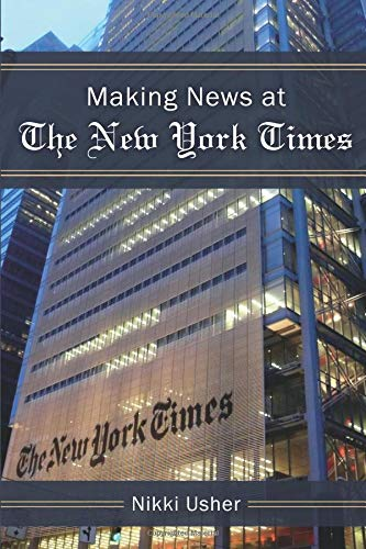 Large book cover: Making News at The New York Times