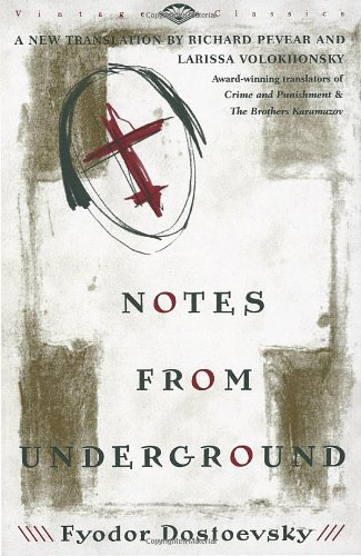 Large book cover: Notes from the Underground