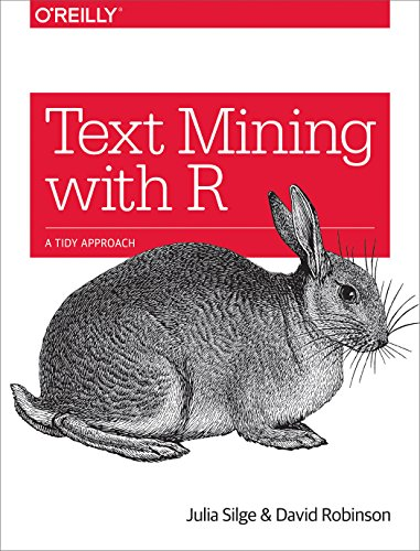 Large book cover: Text Mining with R: A Tidy Approach
