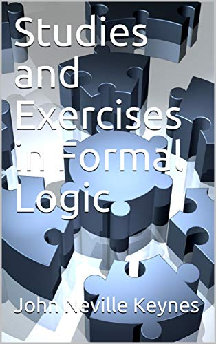 Large book cover: Studies and Exercises in Formal Logic