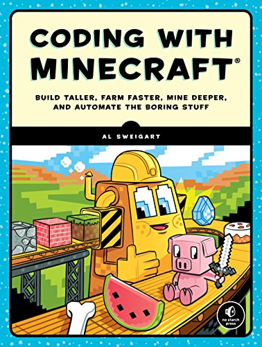 Large book cover: Coding with Minecraft