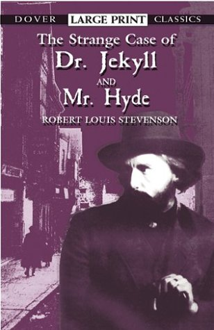 Large book cover: The Strange Case of Dr. Jekyll and Mr. Hyde