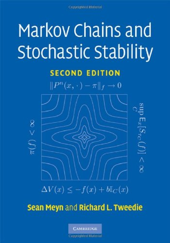 Large book cover: Markov Chains and Stochastic Stability