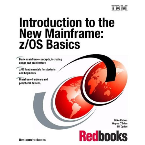 Large book cover: Introduction to the New Mainframe: z/OS Basics