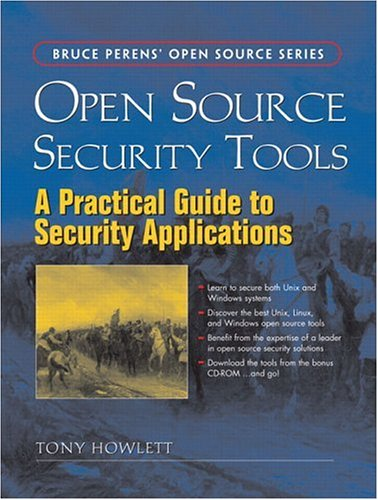 Large book cover: Open Source Security Tools: Practical Guide to Security Applications