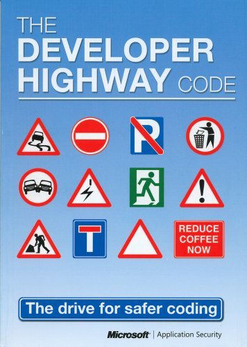 Large book cover: The Developer Highway Code