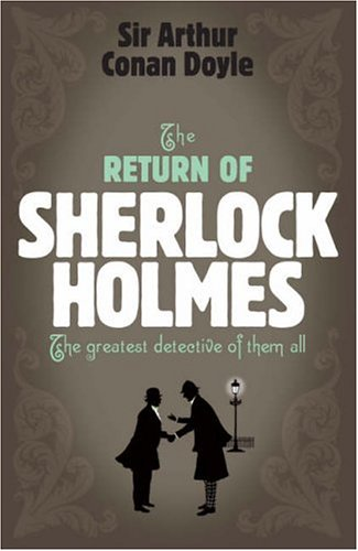 Large book cover: The Return of Sherlock Holmes