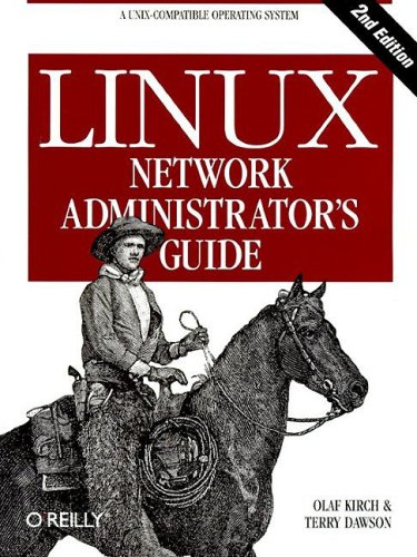 Large book cover: Linux Network Administrator's Guide, 2nd Edition