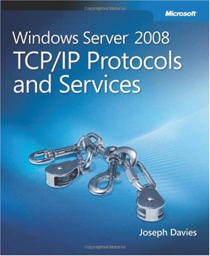 Large book cover: Windows Server 2008 TCP/IP Protocols and Services