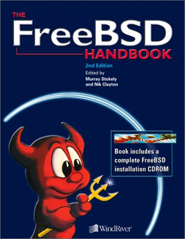 Large book cover: FreeBSD Handbook