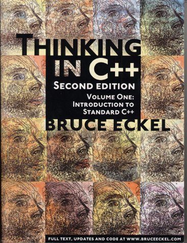 Large book cover: Thinking in C++, 2nd Edition