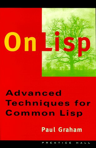 Large book cover: On LISP: Advanced Techniques for Common LISP