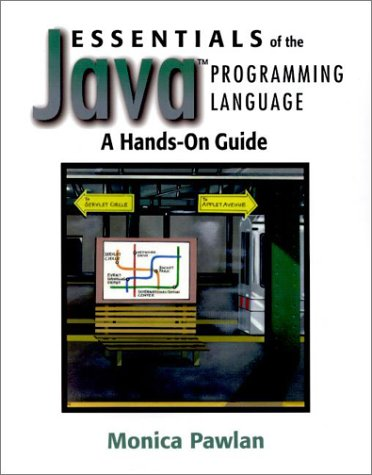 Large book cover: Essentials of the Java Programming Language: A Hands-On Guide