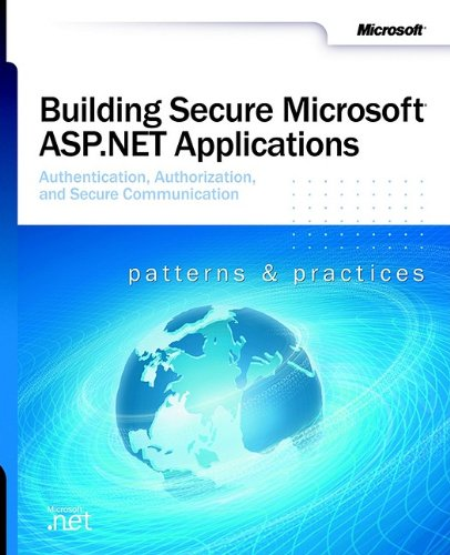 Large book cover: Building Secure Microsoft ASP.NET Applications