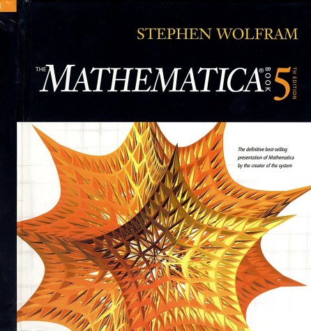 Large book cover: The Mathematica Book