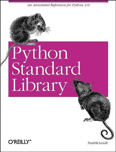 Large book cover: Python Standard Library