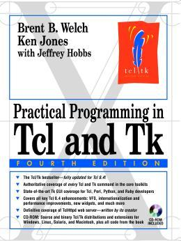 Large book cover: Practical Programming in Tcl and Tk
