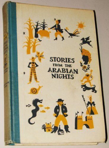 Large book cover: Stories from The Arabian Nights
