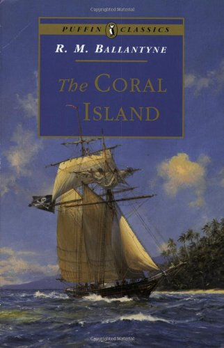 Large book cover: The Coral Island
