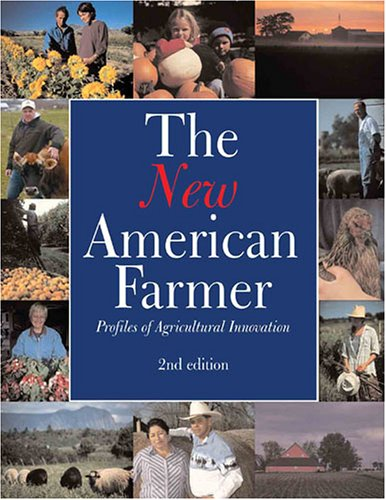 Large book cover: The New American Farmer