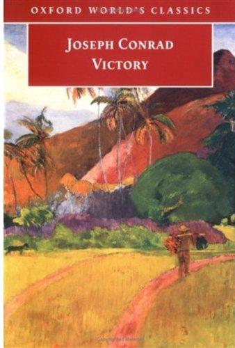 Large book cover: Victory: An Island Tale