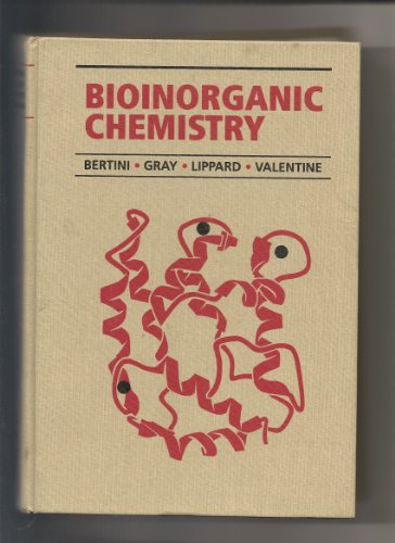 Large book cover: Bioinorganic Chemistry