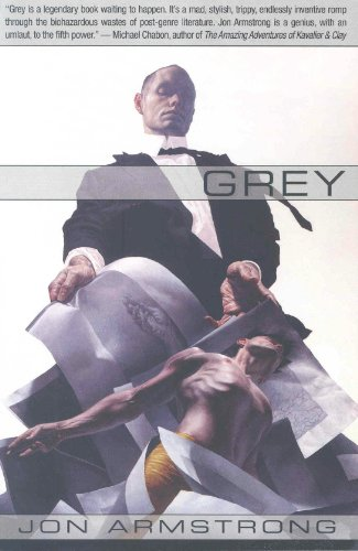 Large book cover: Grey