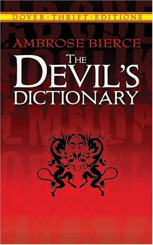 Large book cover: The Devil's Dictionary