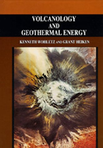 Large book cover: Volcanology and Geothermal Energy