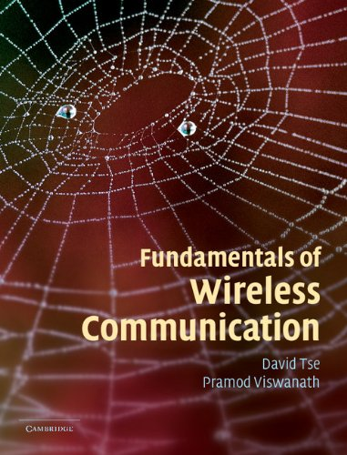 Large book cover: Fundamentals of Wireless Communication