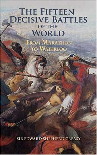 Large book cover: Decisive Battles of the World