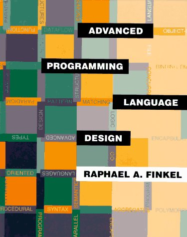 Large book cover: Advanced Programming Language Design