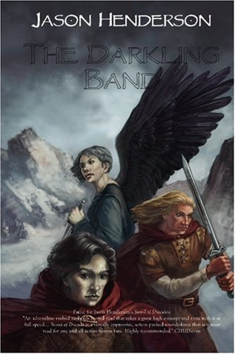 Large book cover: The Darkling Band
