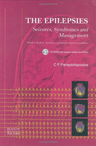 Large book cover: The Epilepsies: Seizures, Syndromes and Management