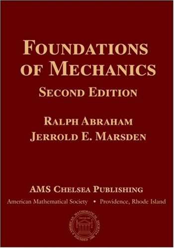 Large book cover: Foundations of Mechanics, Second Edition