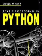 Large book cover: Text Processing in Python