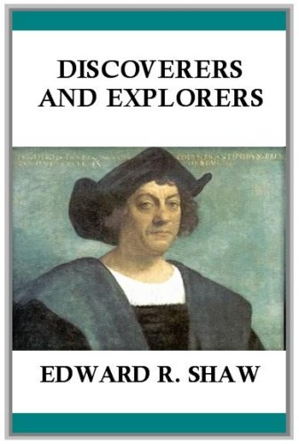 Large book cover: Discoverers and Explorers